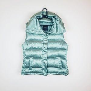 Talbots Green Puffer Vest Down Jacket.    J19xx